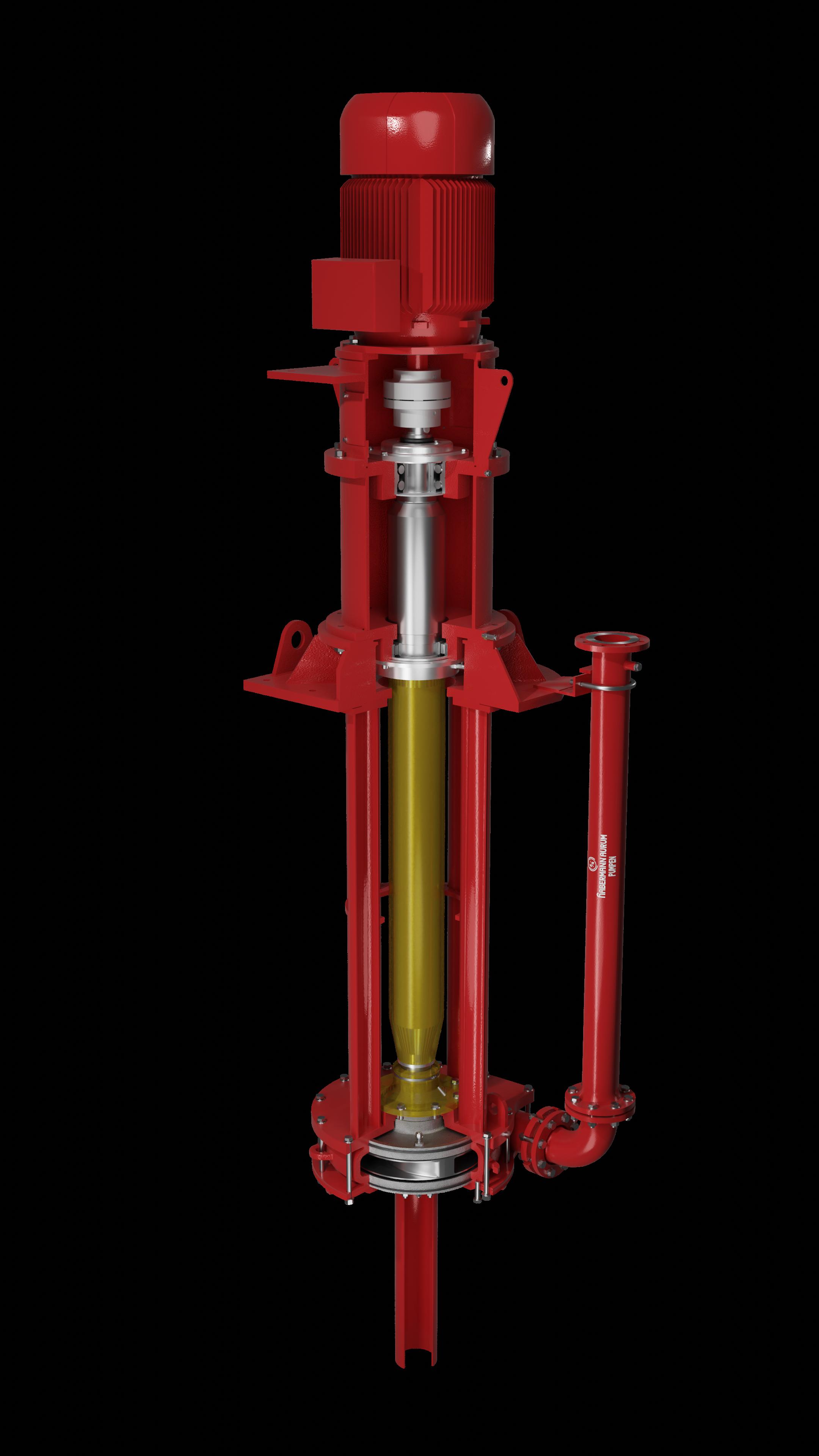 Вертикальный насос для мокрой установки