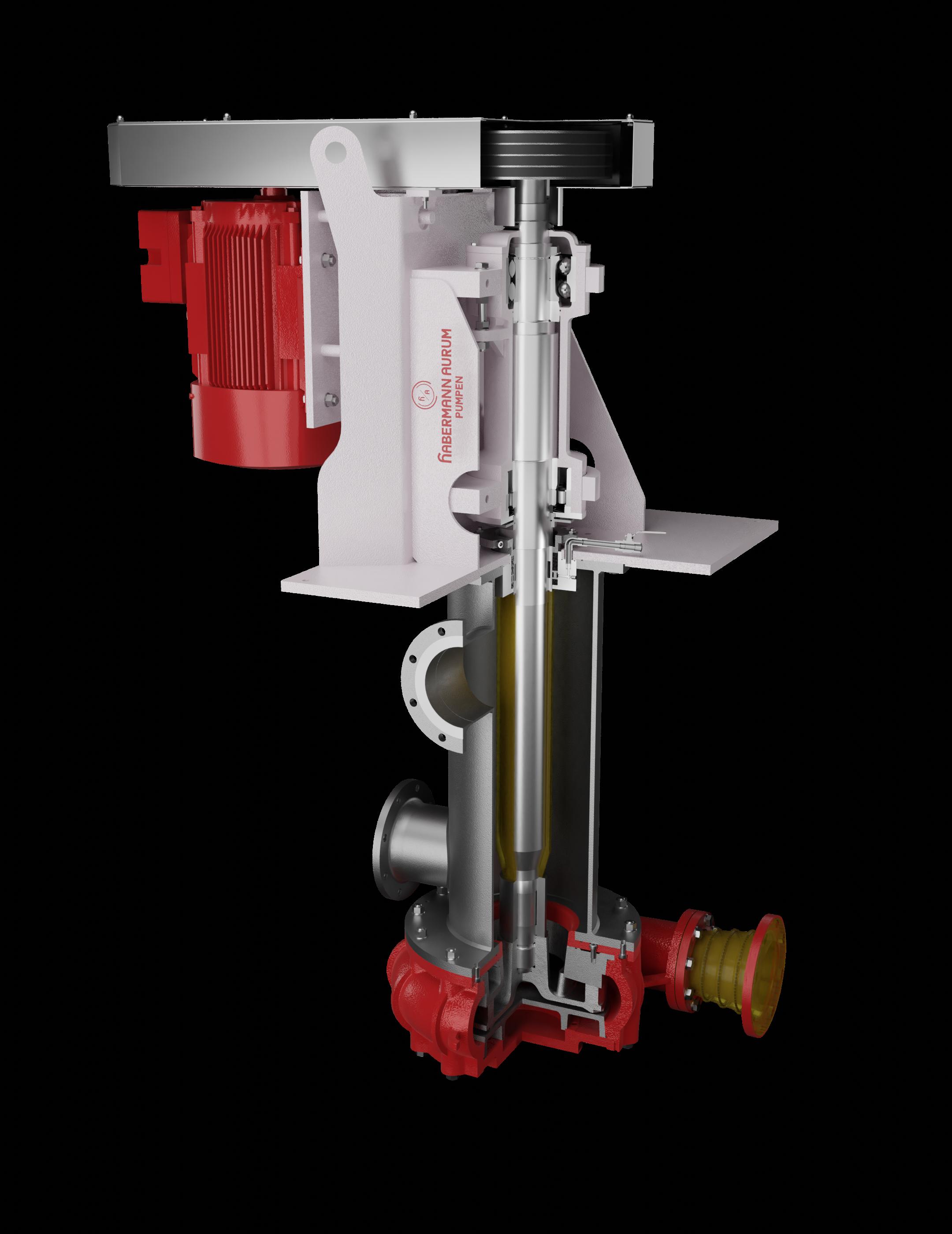 Вертикальные насосы для сухой установки V330